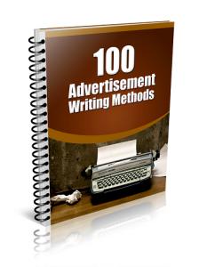 100 Advertisement Writing Methods