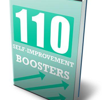110 Self Improvement Boosters