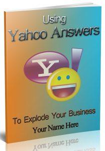 Using Yahoo Answers