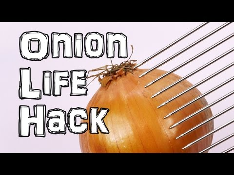 How To Cut An Onion Quickly and Safely