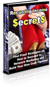 Recurring Income Secrets