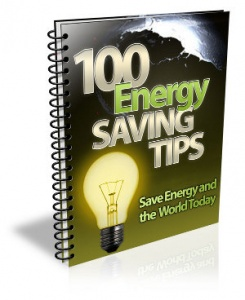 100 Energy Saving Tips