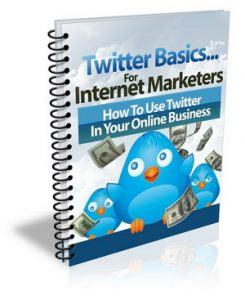 Twitter Basics For Internet Marketers