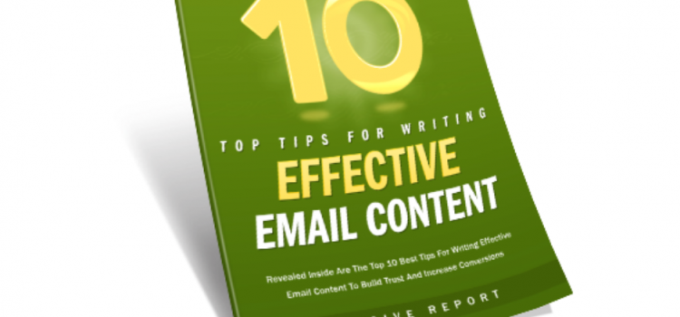 10 Tips For Effective Email Content